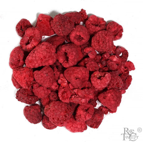 Freeze Dried Whole Red Raspberry - Rare Tea Cellar