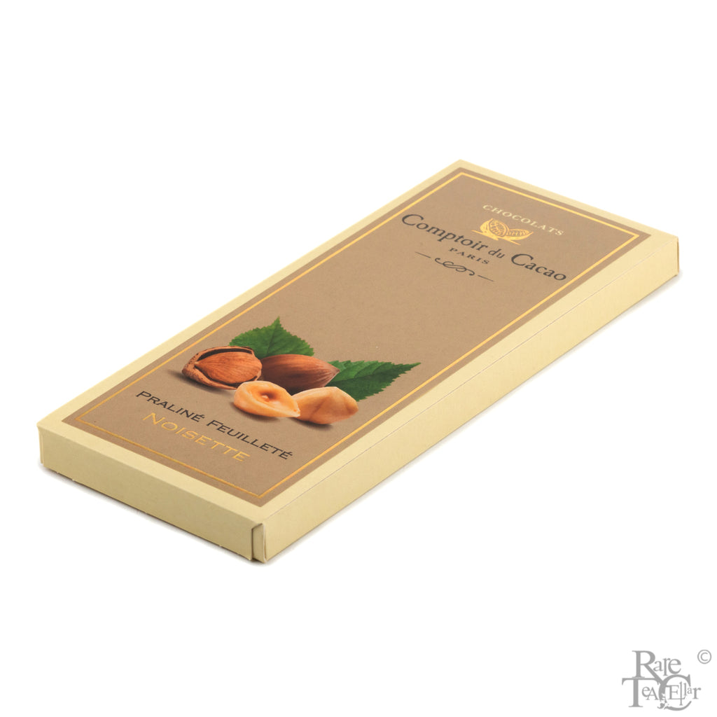 Comptoir de Cacao Hazelnut Praline Chocolate Bar - Rare Tea Cellar