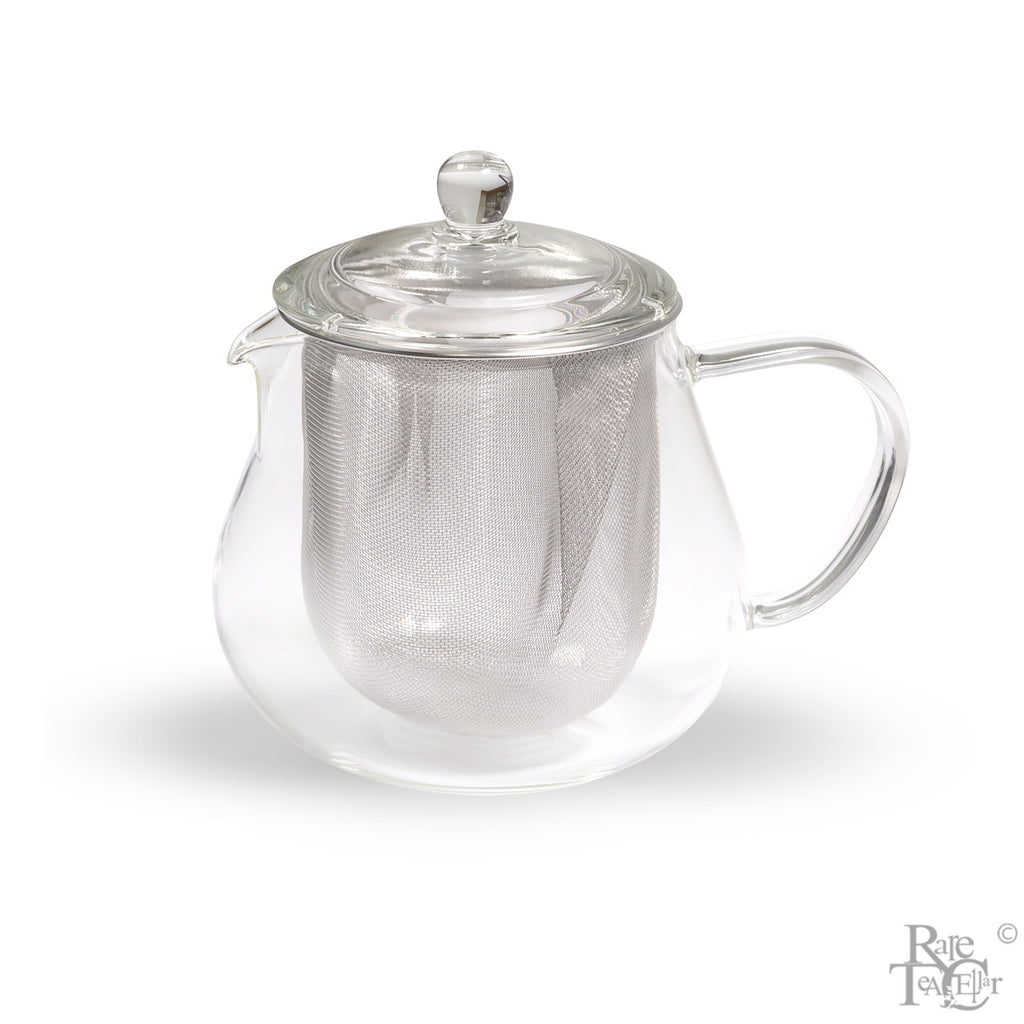 Leaf Tea Pot Clear by Hario - Rare Tea Cellar