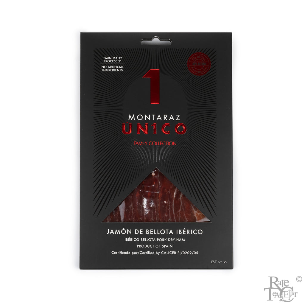 Montaraz Jamon de Bellota Pre-sliced 1.5oz - Rare Tea Cellar