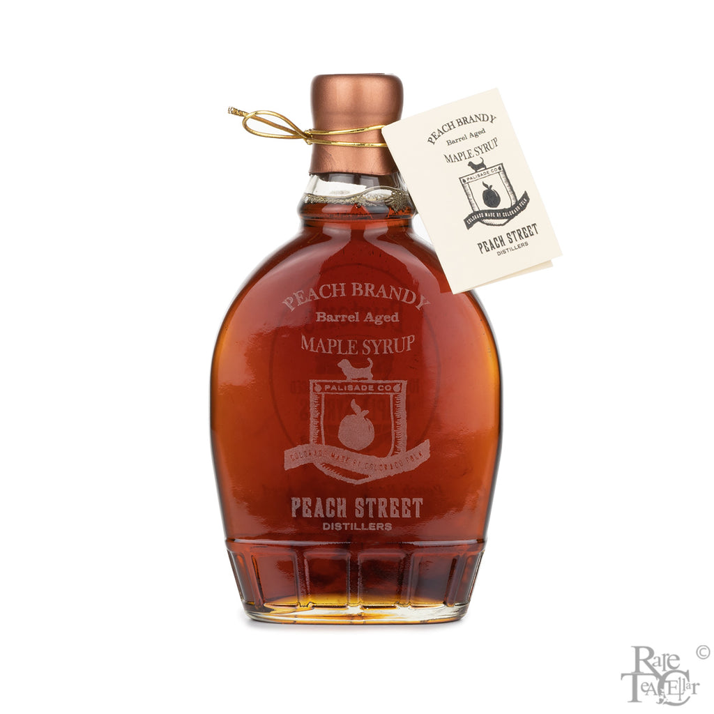 Burton's Peach Brandy Barrel Aged Maple Syrup