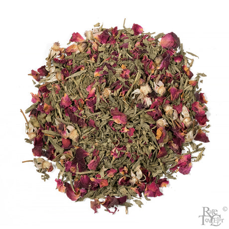 RTC Decaf Sweet Dreams of Sencha Wild Rose - Rare Tea Cellar