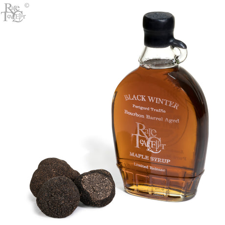 RTC & Burton's Maplewood Farm Limited Edition Black Winter Perigord Truffle Maple Syrup