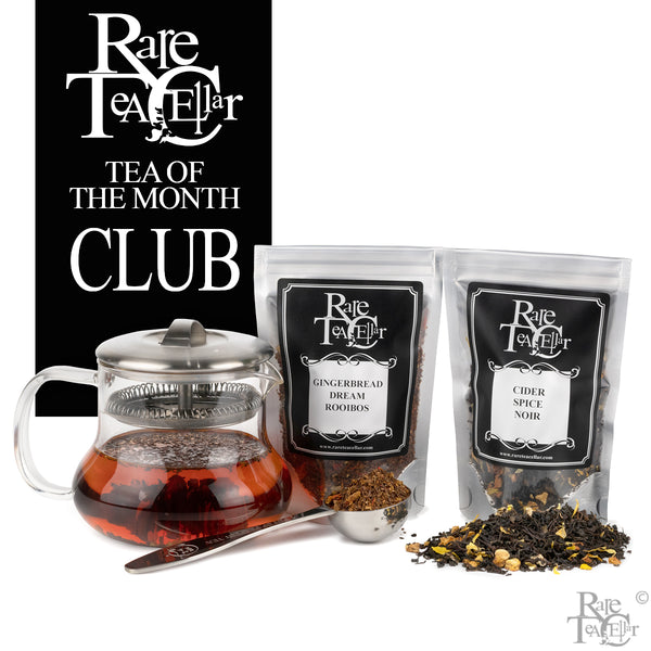 Tea of the Month Club - Rare Tea Cellar