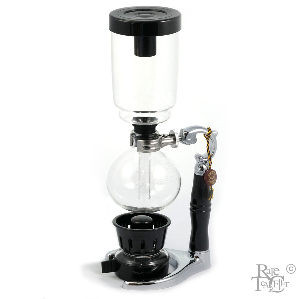 Yama Tabletop Syphon-3 Cup Vacuum Brewer - Rare Tea Cellar