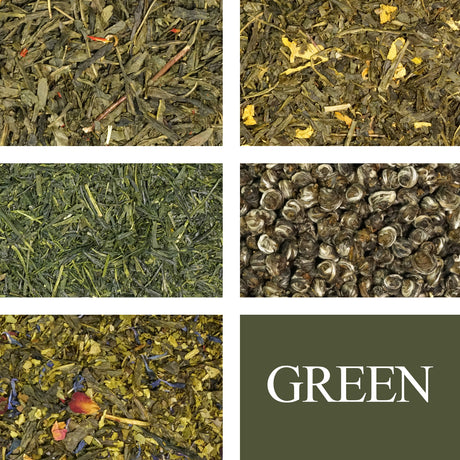 Green Tea Sampler - Rare Tea Cellar