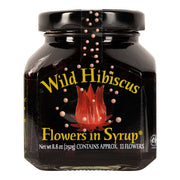 Wild Hibiscus Flowers in Syrup - Rare Tea Cellar