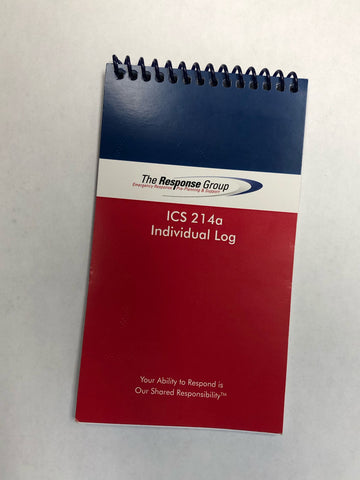 ICS 214a Individual Log Book