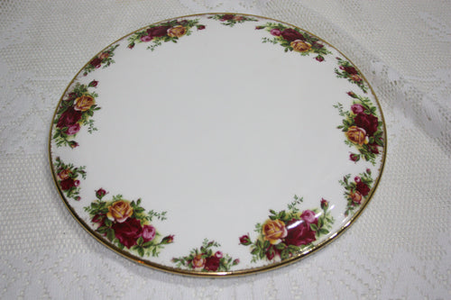 Royal Albert Old Country Roses Cheese Plate 1st Quality