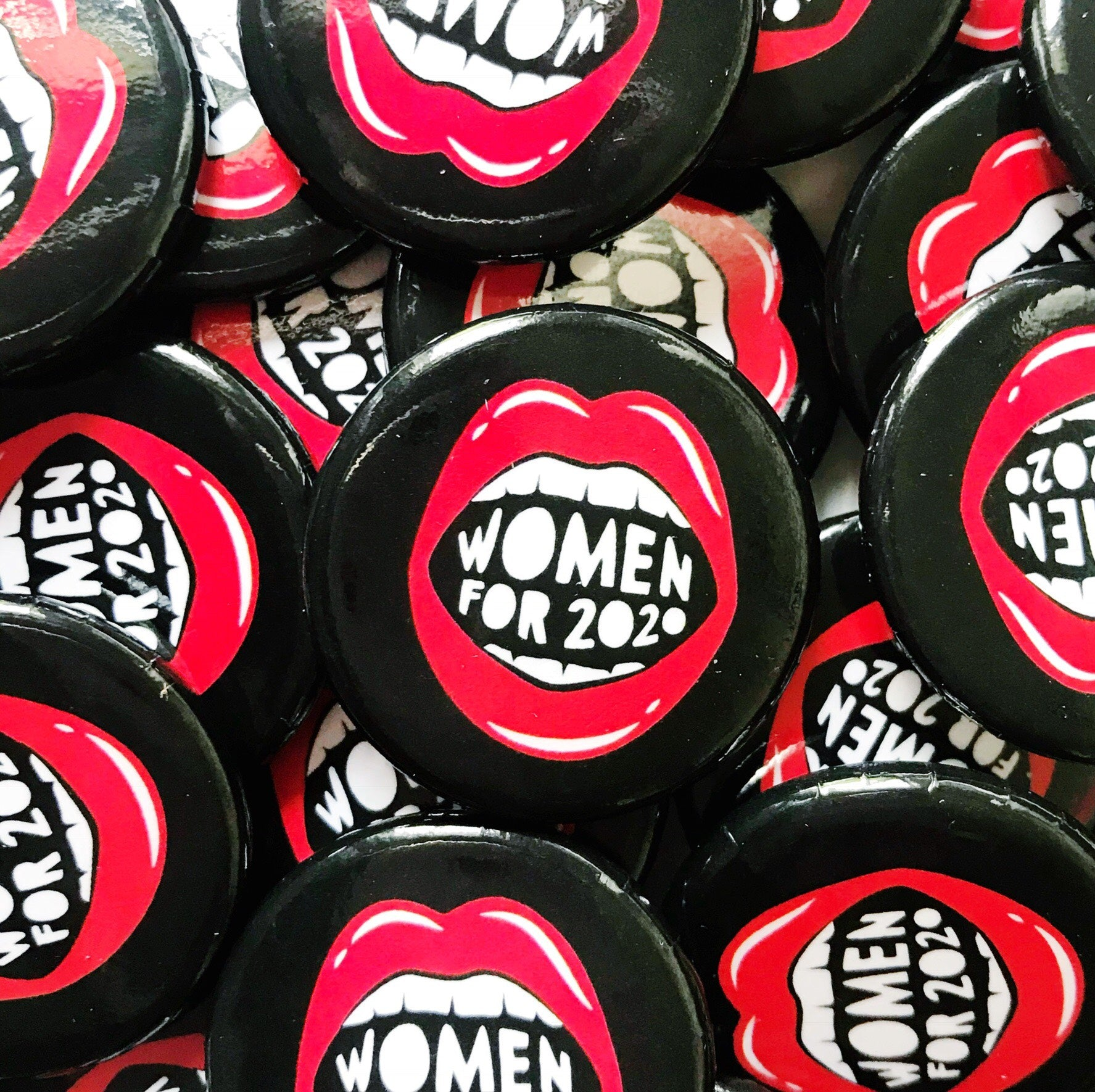 Women for 2020 Button