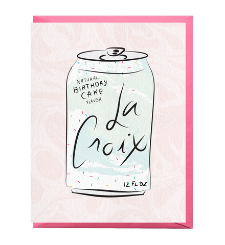 Birthday Cake LaCroix