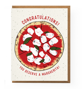 Margherita Pizza Congratulations
