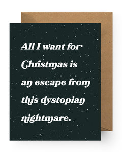 Dystopian Christmas Nightmare