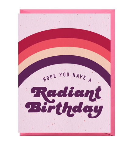 Radiant Birthday