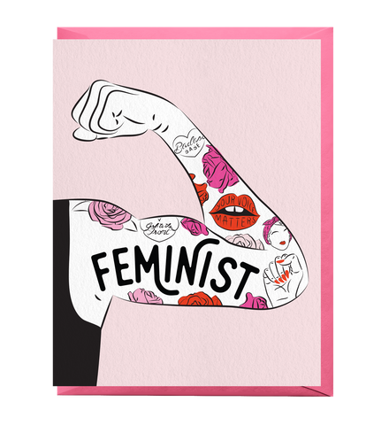 Feminist Tattoo Sleeve