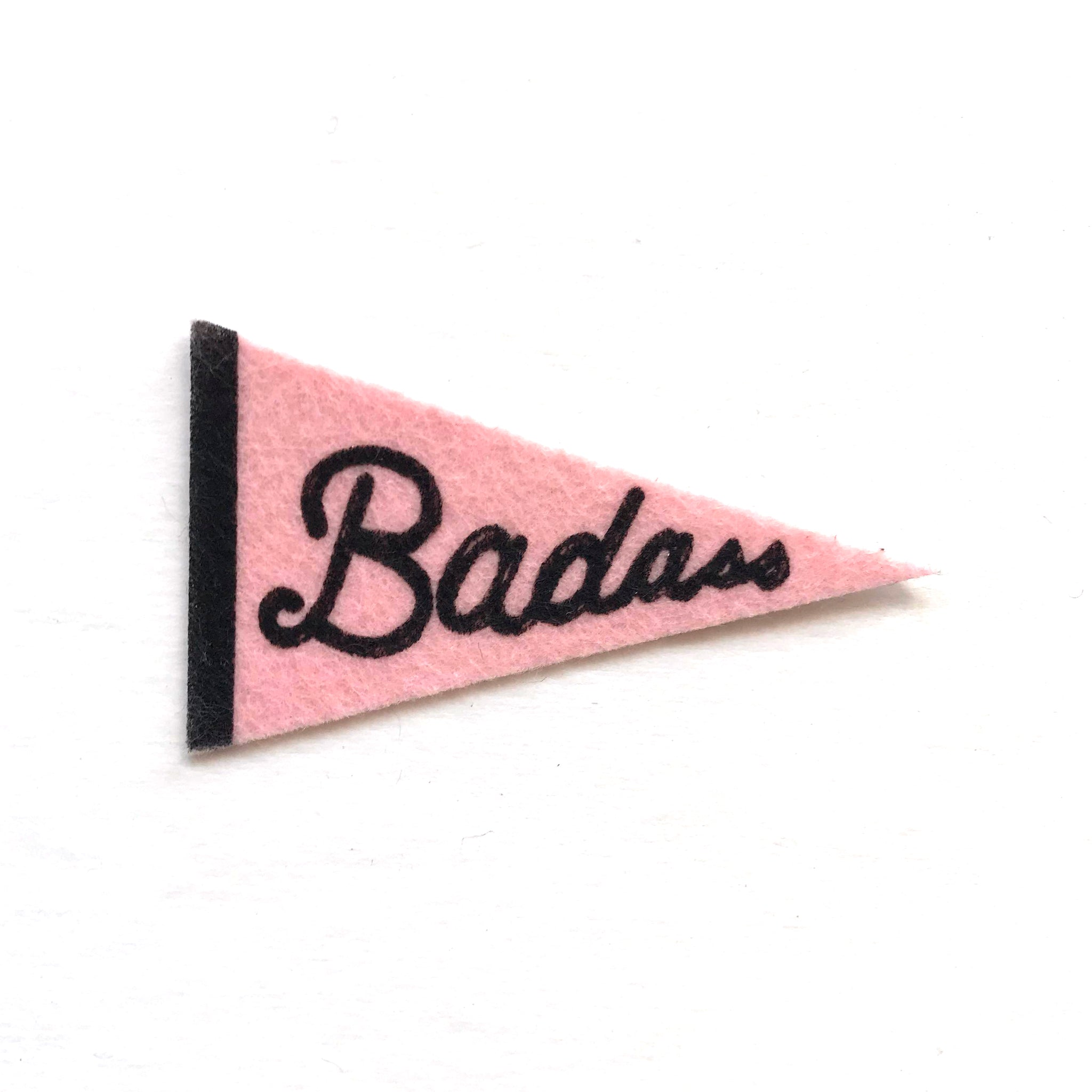 Badass Pennant Sticker