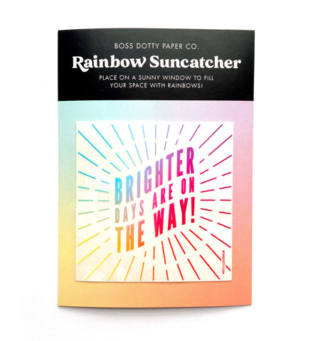 Brighter Days Rainbow Suncatcher