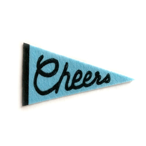 Cheers Pennant Sticker