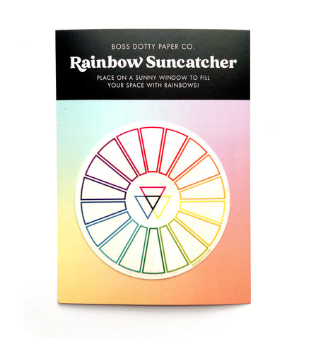 Color Wheel Rainbow Suncatcher