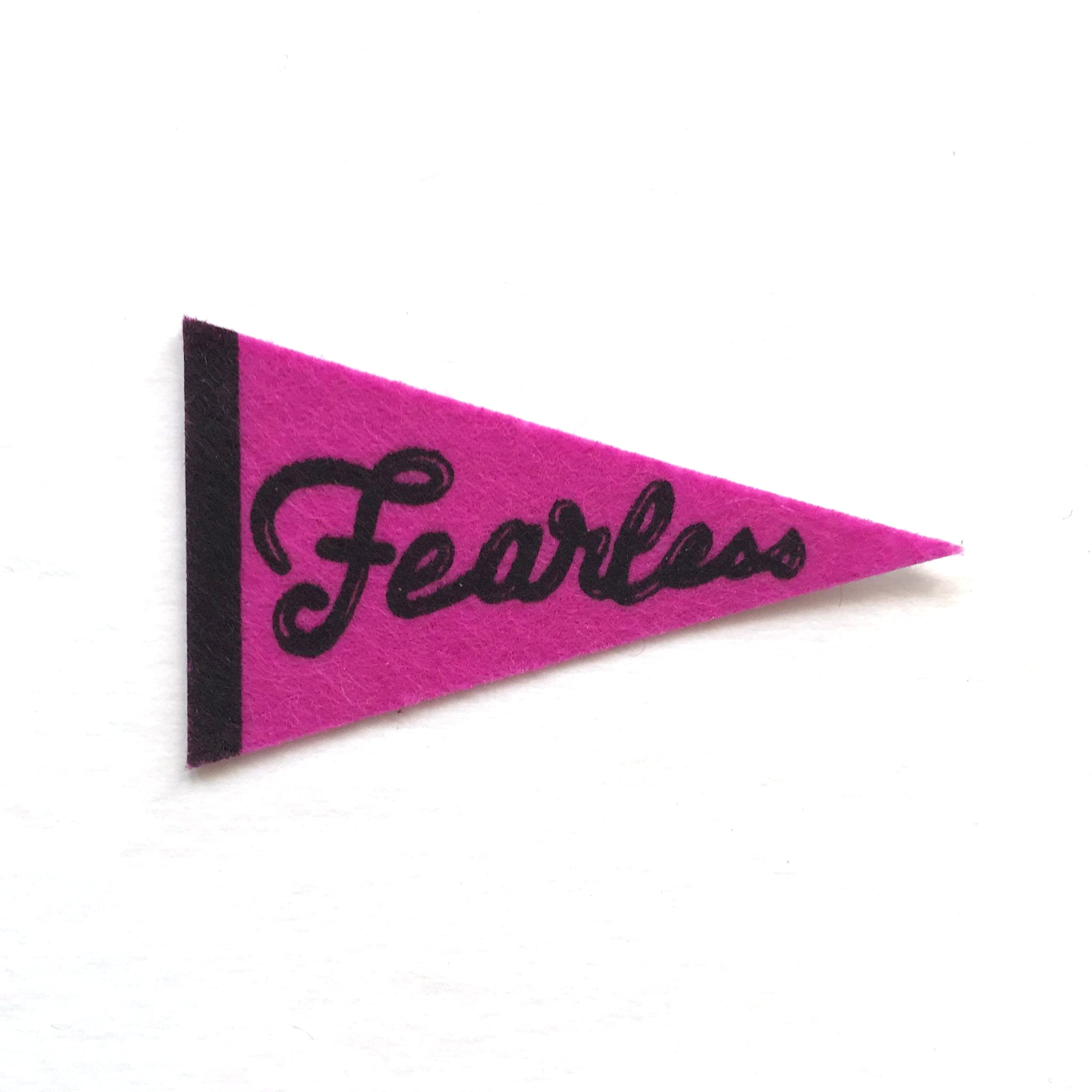 Fearless Pennant Sticker