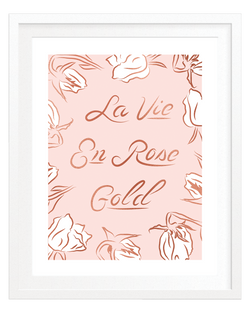 La Vie En Rose Gold