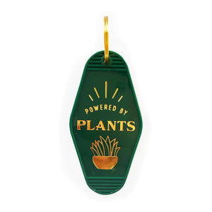 Powered By Plants Key Tag