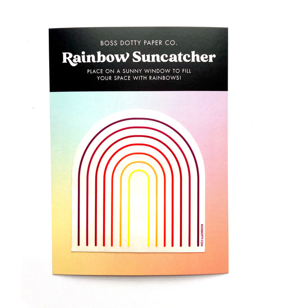 Retro Rainbow Suncatcher