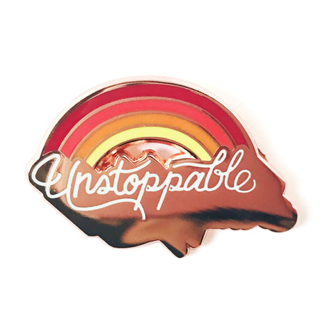 Unstoppable Enamel Pin