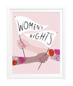 Women's Rights Art Print