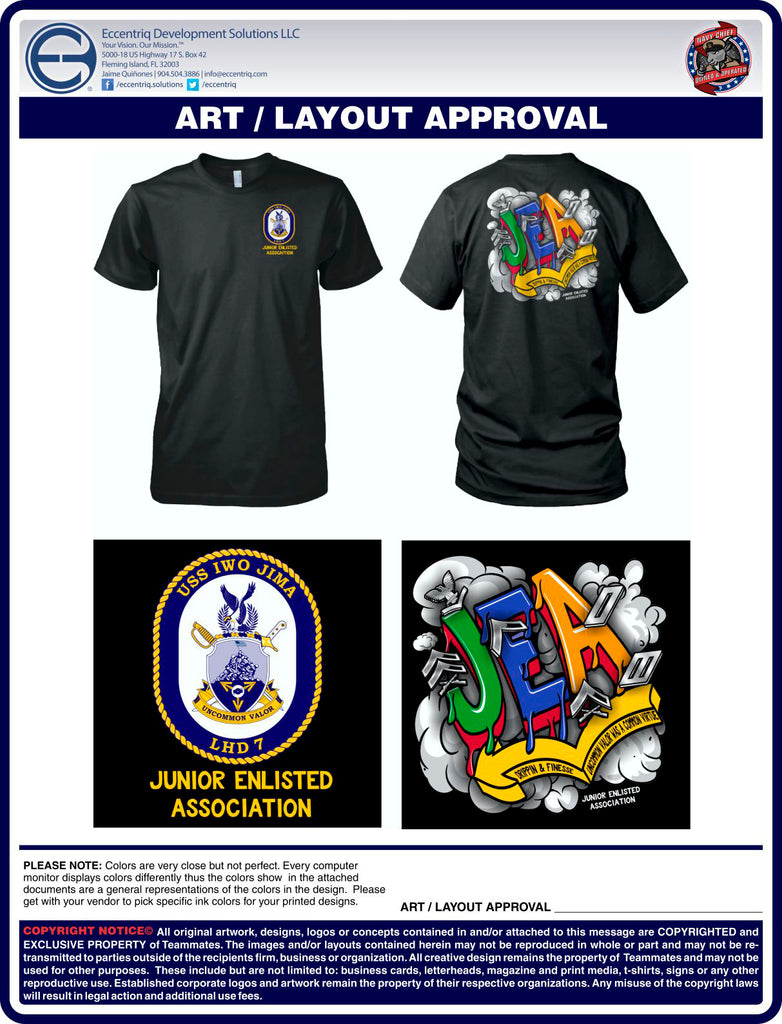 USS IWO JIMA JUNIOR ENLISTED ASSOCIATION