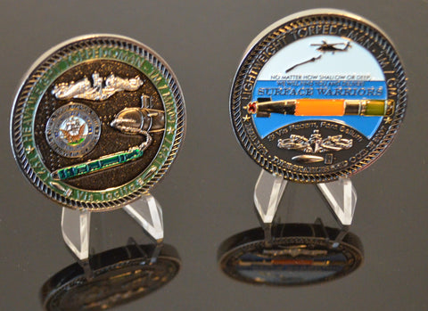 U.S. Navy Torpedoman's Mate Challenge Coin