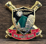 Green Monster GM School House Challenge Coin