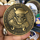 Gunner's Mate Death By Destruction Challenge Coin - DIXIE CUP