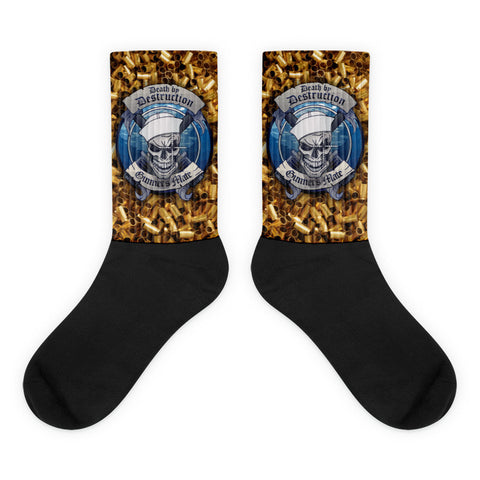 Gunner's Mate Black/Brass Socks