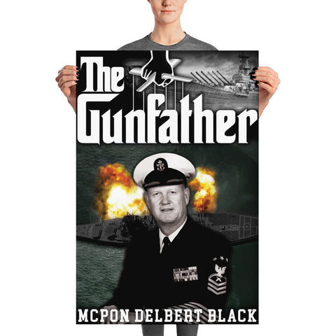 """The Gun Father"" Poster"