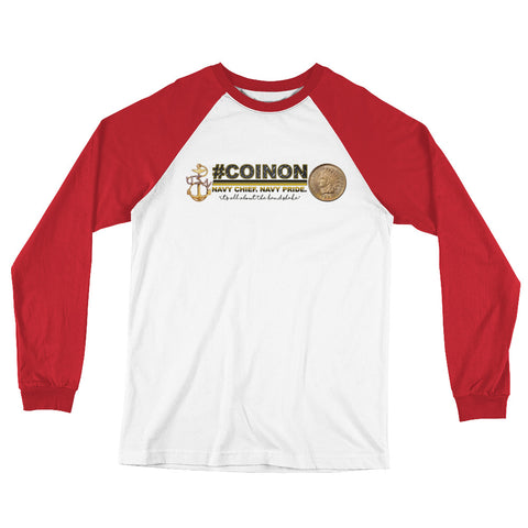 #COINON Long Sleeve Baseball T-Shirt