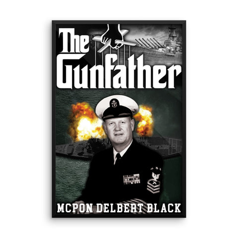 """The Gun Father"" Framed Poster"