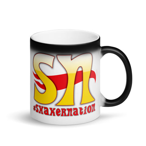 Shaker Nation Matte Black Magic Mug