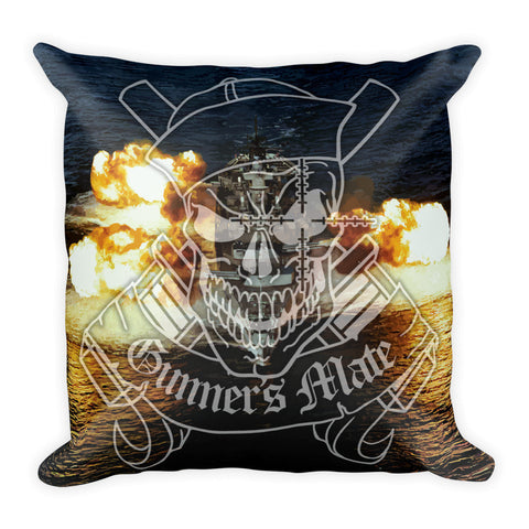 Gunner's Mate Square Pillow