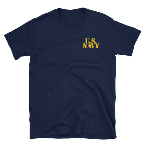 U.S. Navy Retired Unisex T-Shirt (Blue)