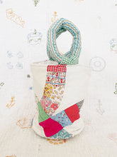 Antique Quilt Bucket Bag  | wedding quilt
