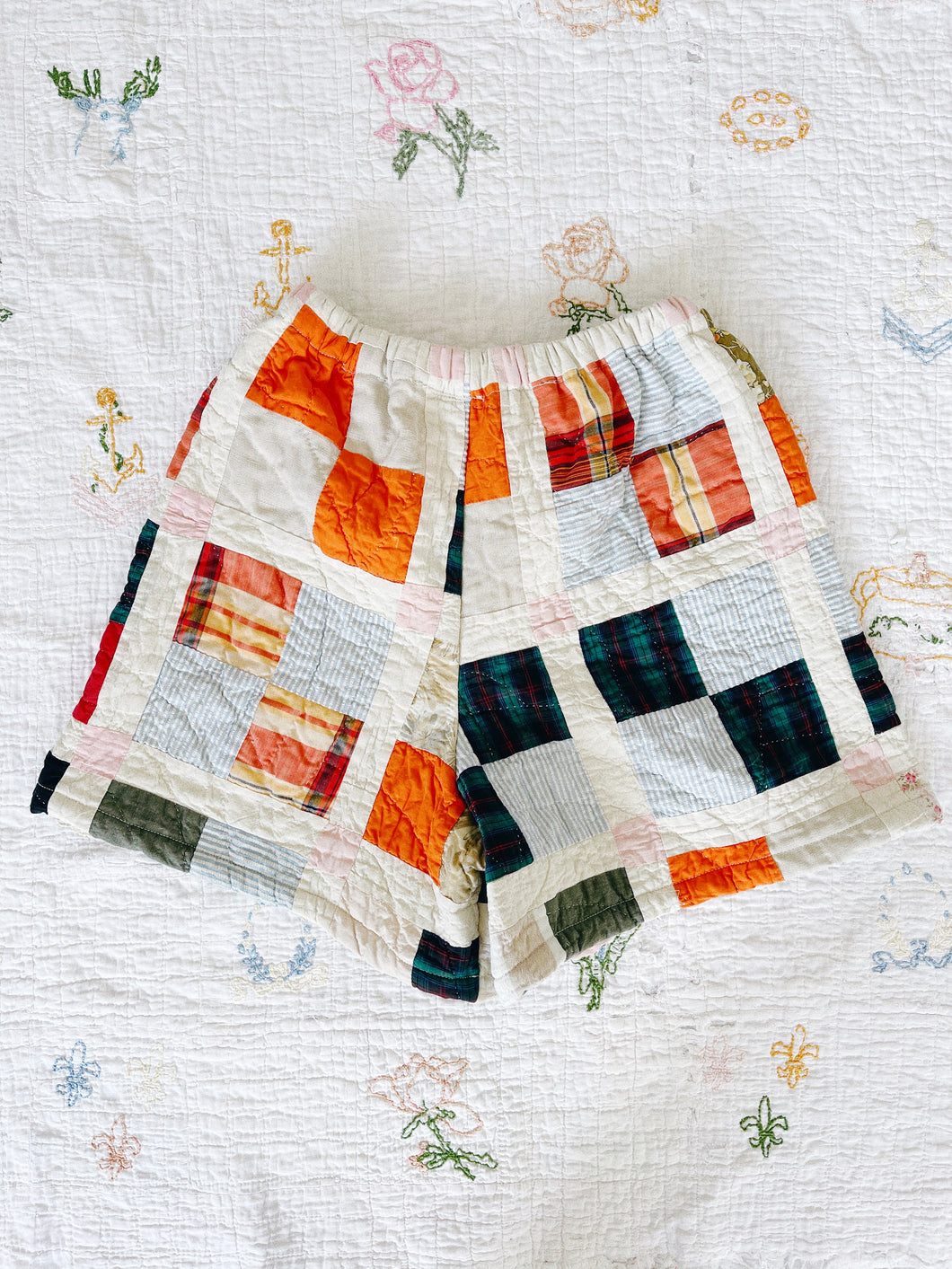 Antique Quilt Shorts 06 | 26