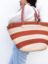 Striped Mexican Market Bag