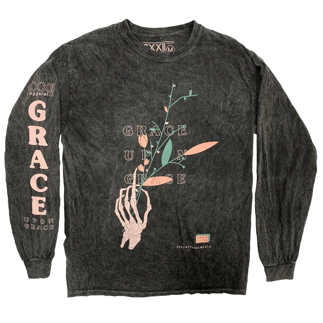 Grace Upon Grace Mineral Wash Long Sleeve