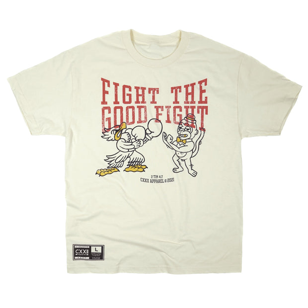 """Fight Together"" Natural Street Tee"