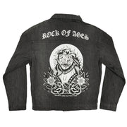 Rock Of Ages v.2 Black Denim Jacket