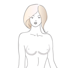 East West - Breast Shape Guide