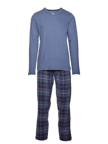 Buffalo COTTON T SHIRT & FLANNEL LOUNGEPANT GIFT SET