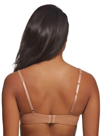 Paramour by Felina Sensational T-Shirt Bra back shot color-captivating camel