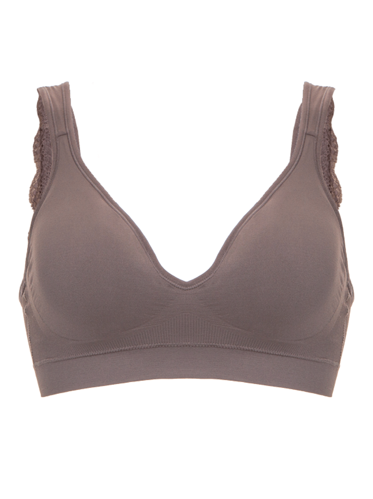 Altissima Eco-Friendly Seamless & Lace Bralette